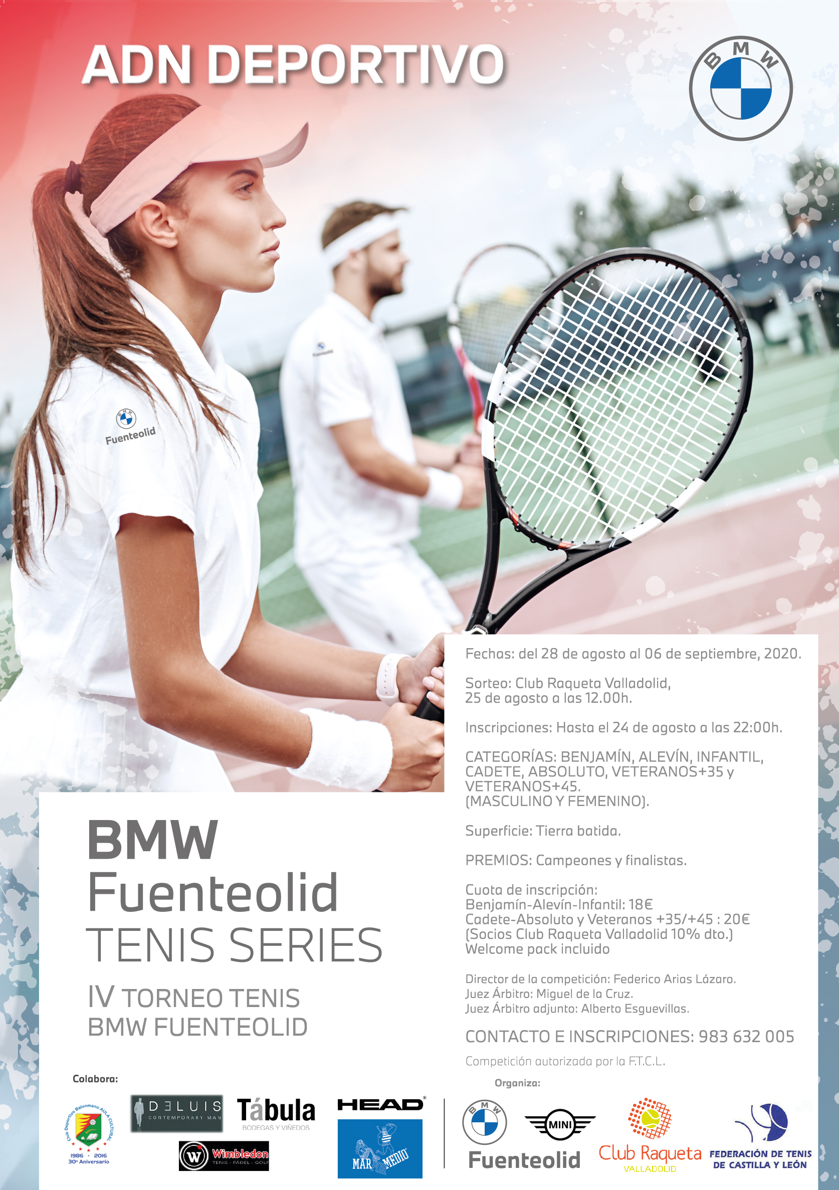 IV TORNEO TENIS BMW FUENTEOLID