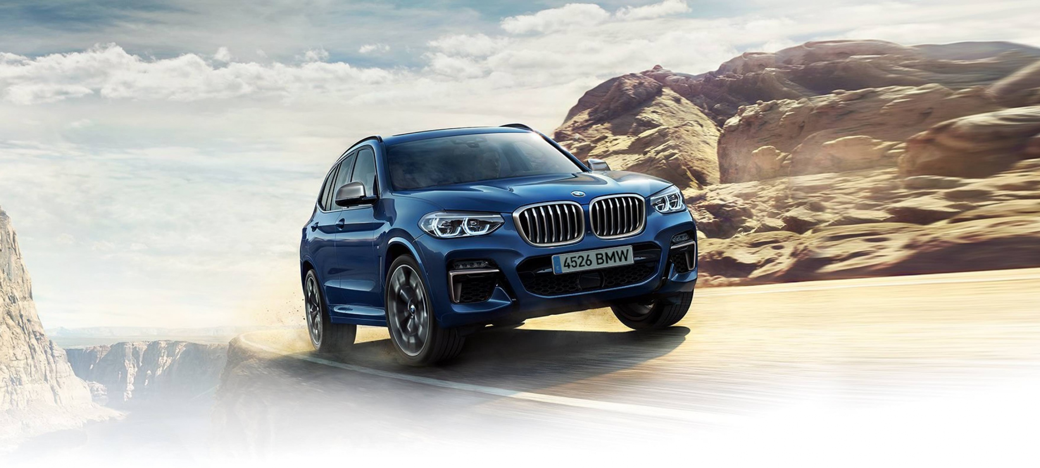 BMW X3 DESDE 250 €/MES*